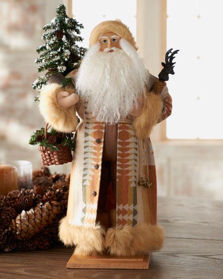 """Aspen Winter"" Santa Figure"