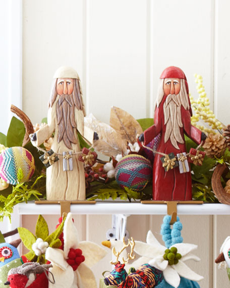 Santa Stocking Holder