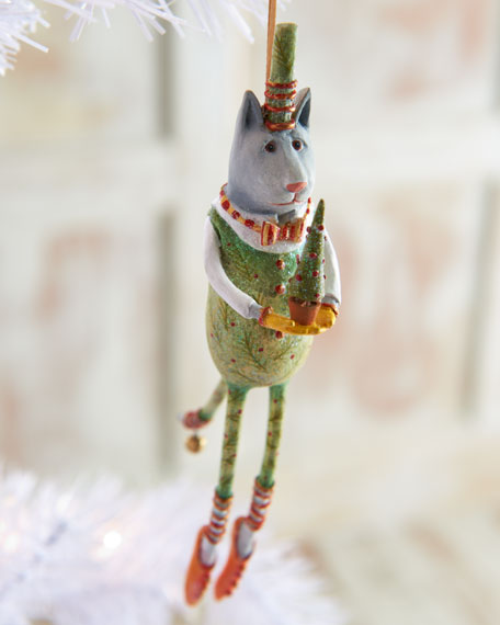 """Arthur Green Cat"" Holiday Ornament"
