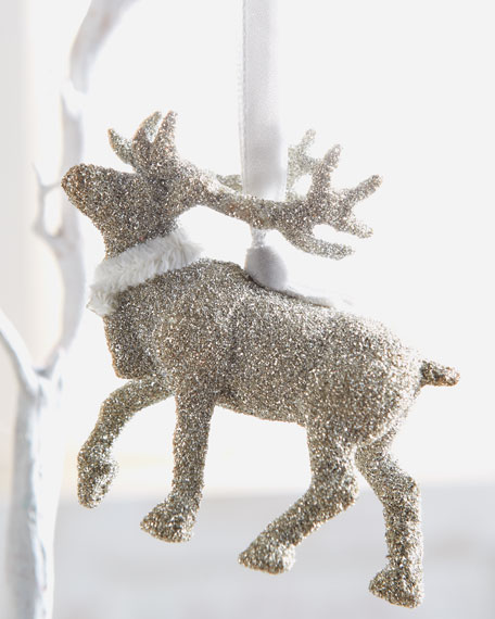 """Holiday Reindeer"" Ornament"
