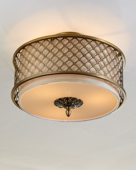 Brushed Brass Ceiling Fixture
