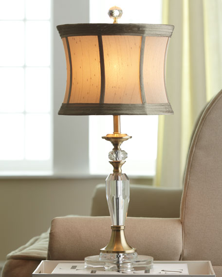 Augustana Crystal Lamp
