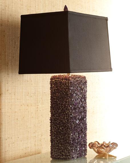 Amethyst Gemstone Lamp