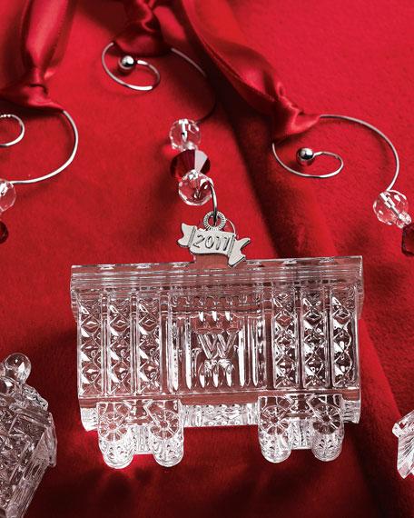 Train Box Car Holiday Ornament