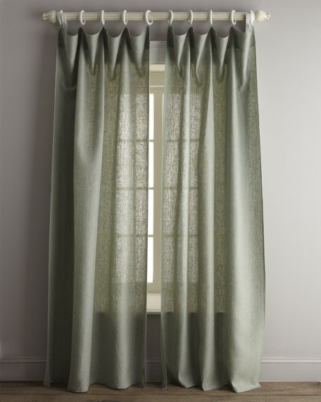 "90""L ""Chambray"" Curtain"