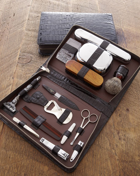 toiletry kit. Black Bedroom Furniture Sets. Home Design Ideas