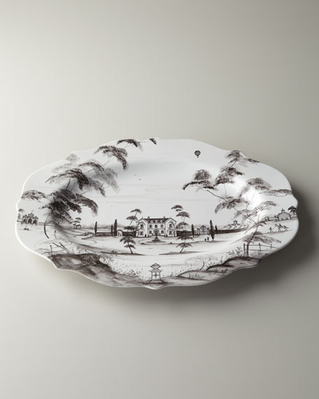 "Country Estate ""Main House"" Serving Platter"