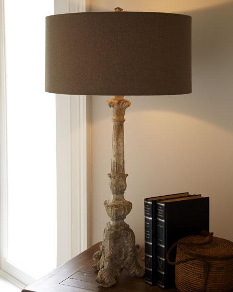 """""""Stonewash"""" Lamp"""