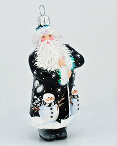 """Winnetka Claus"" Ornament"