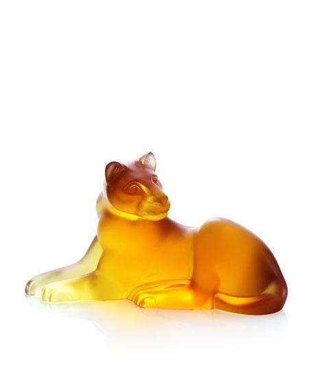 """Amber """"Simba"""" Lioness Figurine"""
