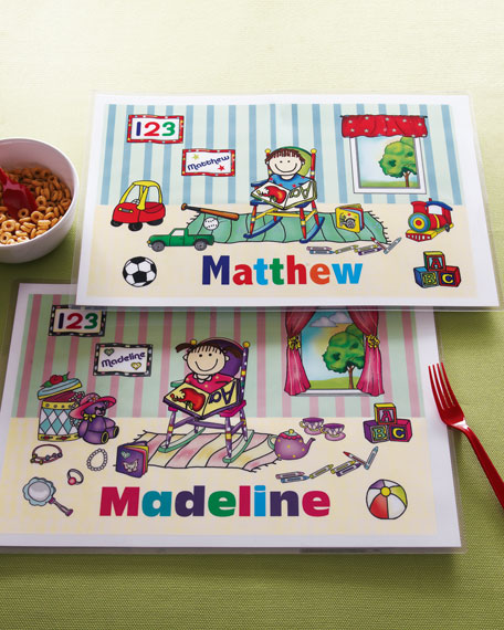 Personalized Place Mats