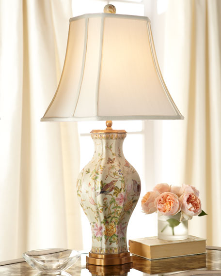 Neimanmarcus Birds in Bliss Table Lamp