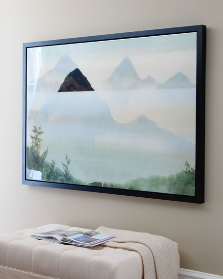 """Misty Mountains"" Giclee"