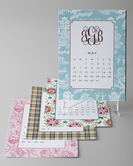Classic Calendar with Stand
