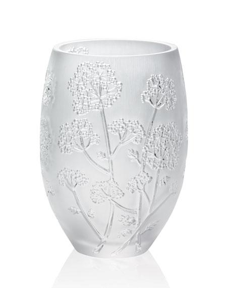 "Medium ""Ombelle"" Crystal Vase"
