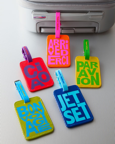 """Jet Setter"" Luggage Tag"
