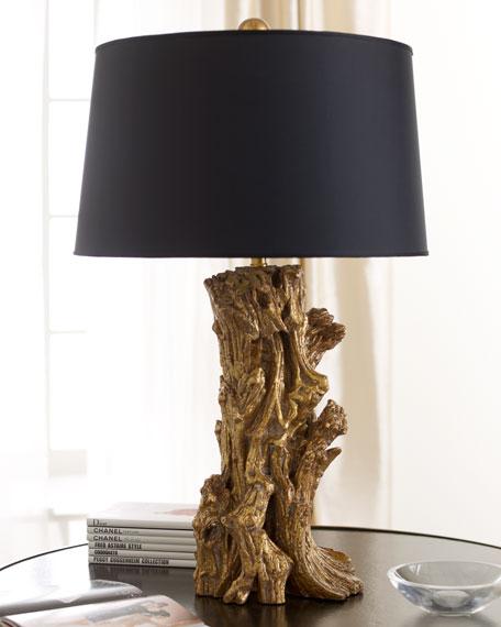 """Golden Sequoia"" Table Lamp"