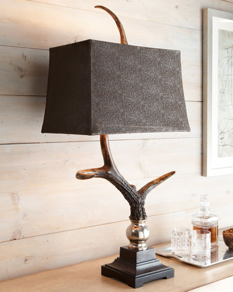 """""""Stag Horn"""" Table Lamp"""