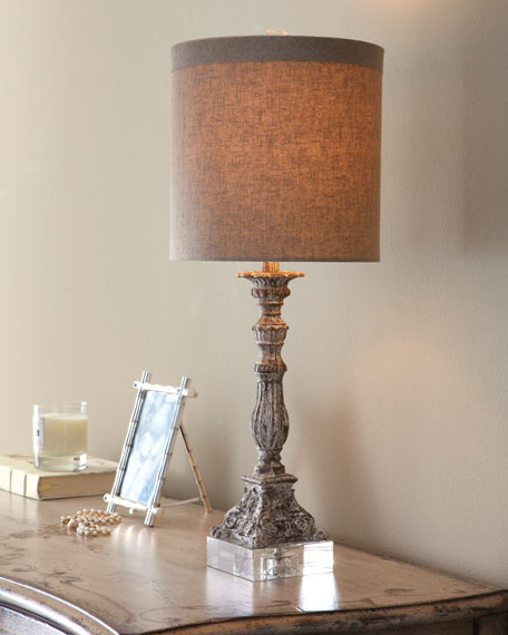 """Weathered"" Table Lamp"