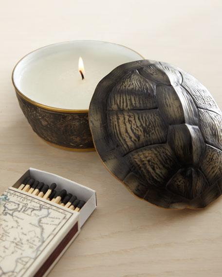 Turtleshell-Lidded Candle