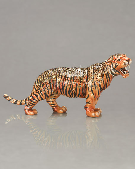 """Raj"" Tiger Figurine"