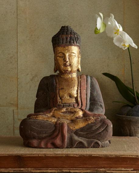 Antique Golden Buddha Statue