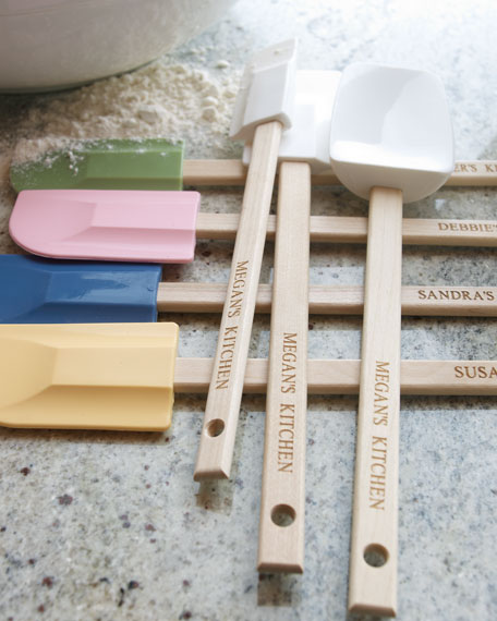 Three-Piece Personalized Spatula Set