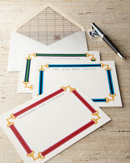 "40 ""Buckle Frame"" Notecards"