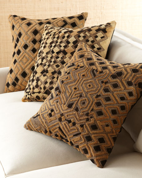 Kuba Pebbled Pillows