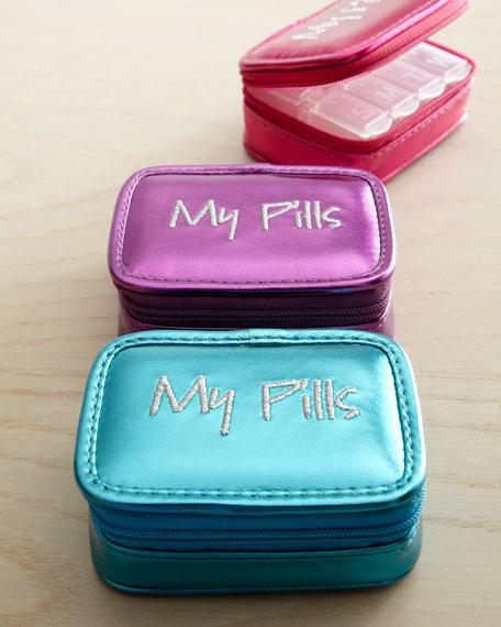 """""""My Pills"""" Pill Case"""
