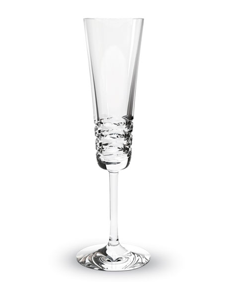 "Two ""Lola"" Champagne Flutes"