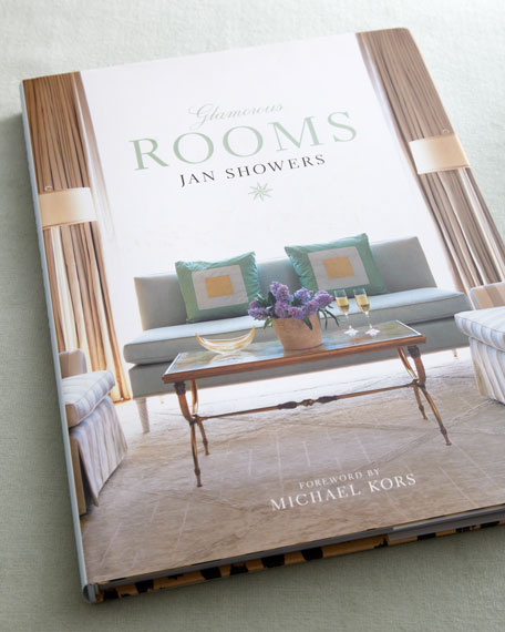 """""""Glamorous Rooms"""" Hardcover Book"""