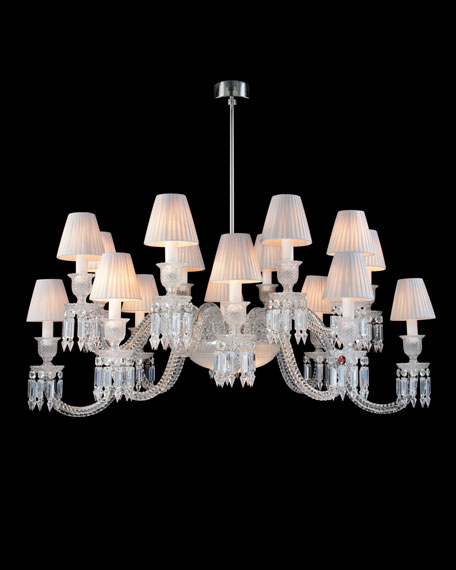 """Ellipse"" 16-Light Chandelier"