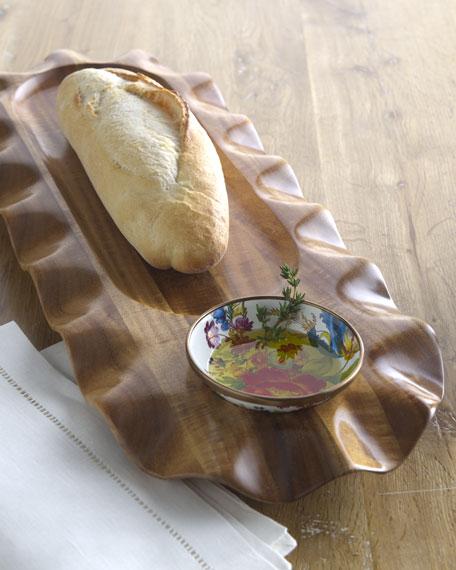 """""""Flower Market"""" Bread & Oil Platter"""
