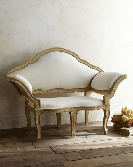 Tara shaw italian baroque canape sofa for Canape italian shoes
