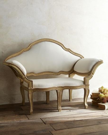Tara shaw italian baroque canape sofa for Canape italian shoes