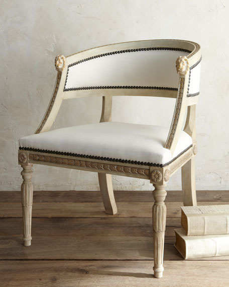 """Swedish"" Bergere Armchair"