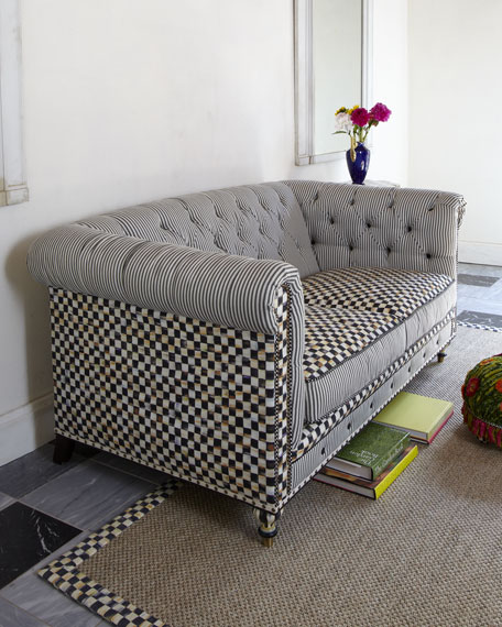"""Underpinnings"" Chesterfield Sofa"