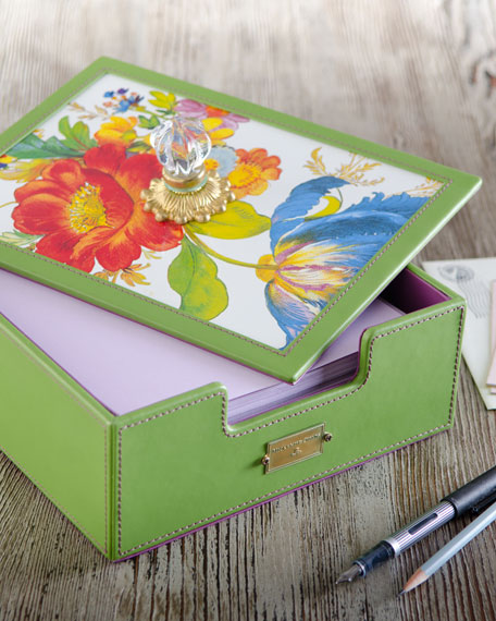 """Flower Market"" Desk Box"
