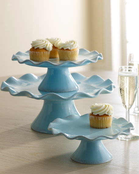 """Ruffle"" Cake Stands"