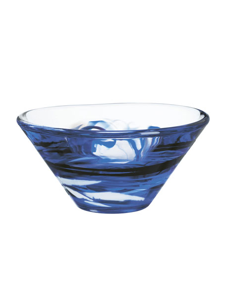 Medium Blue Tempera Bowl