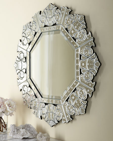 """Ornate Crown"" Mirror"