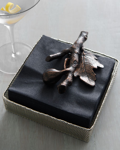 """Fig Leaf"" Napkin Holder"