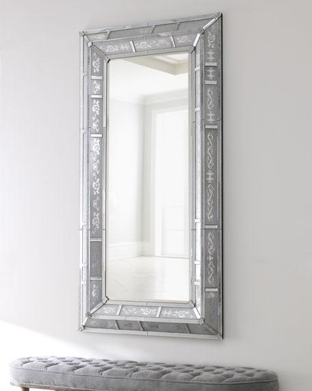 Antiqued Venetian Mirror