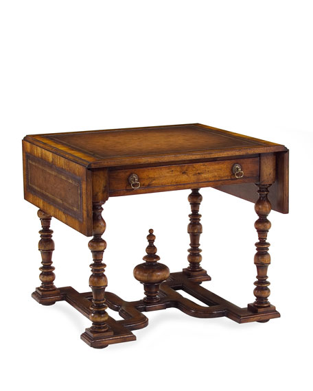 """""""William & Mary"""" Drop-Leaf Side Table"""