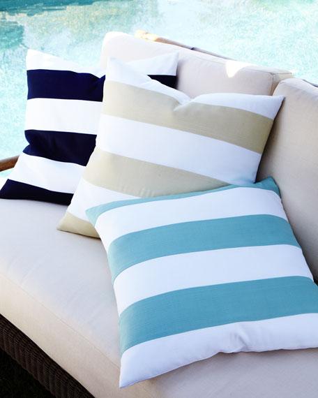 Outdoor Stripe Pillow