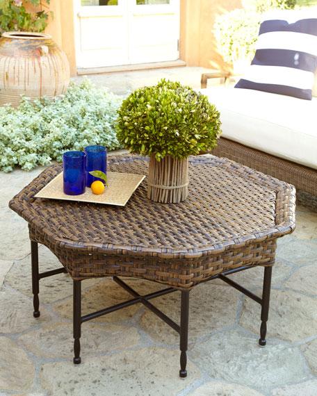 Wicker Outdoor Cofee Table