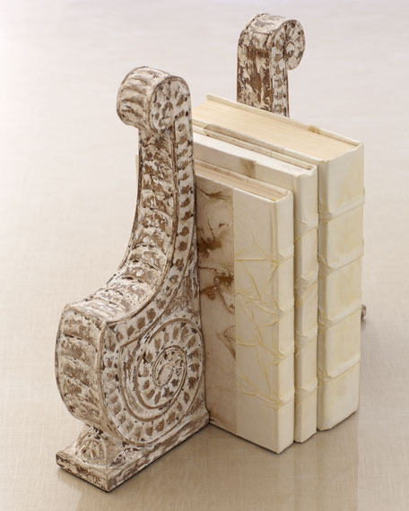 """Scroll"" Bookends"