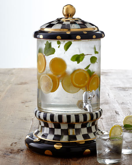 Courtly Check Beverage Dispenser