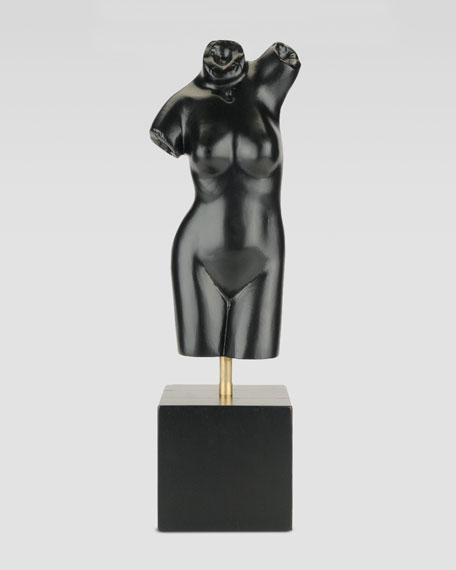 Wooden Female Sculpture